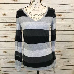 Calvin Klein Stripe Sweater Top